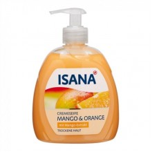 Жидкое крем-мыло Isana Mango & Orange, 500 мл
