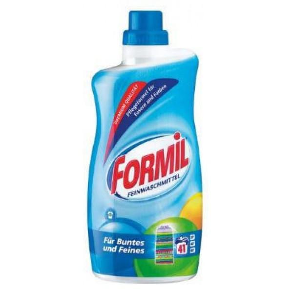 Гель для стирки деликатных тканей Formil Feinwaschmittel, 1,5 л - 41 стирка