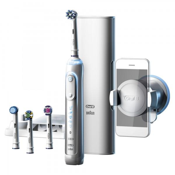 Электрическая зубная щетка Oral-B Genius 9000 white