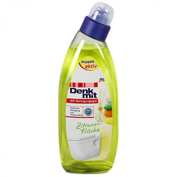 Средство для чистки унитазов Denkmit WC-Reinigungsgel Zitronen-Frische, 750 мл