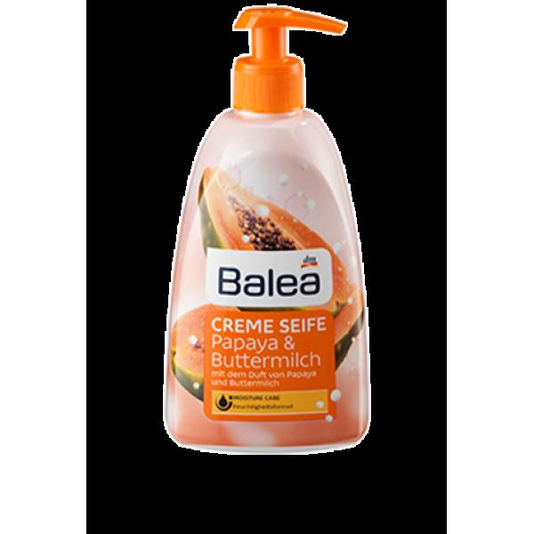 Жидкое крем-мыло Balea Papaya & Buttermilch, 500 мл