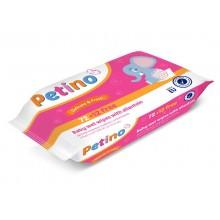 Влажные салфетки для детей Cleanic Petino, 84 шт