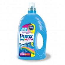 Гель для стирки цветных вещей Purox Color, 4,3 л - 122 стирки